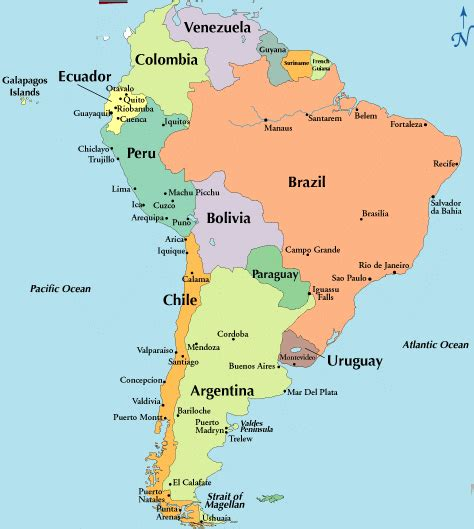 map of south america cities cultures
