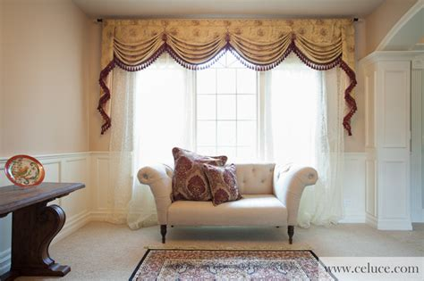 swag curtains for living room versailles rose premium designer swag valances