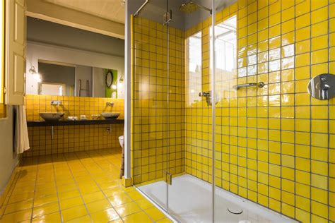 yellow bathroom suite luxury boutique hotel with 16th century charm in malta