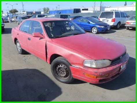 car engine manuals 1993 toyota camry auto manual 1993 toyota camry le used 2 2l i4 16v manual sedan no reserve