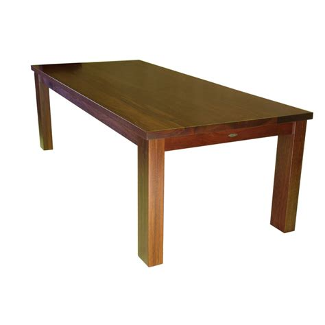 Solid Hardwood Dining Table Solid Jarrah Hardwood Dining Table Furniture Home D 233 Cor Fortytwo