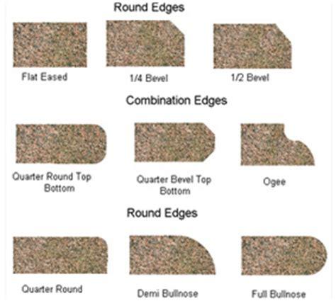 Choosing Granite Countertop Edges by Prestige Granite Company Countertops Vanities