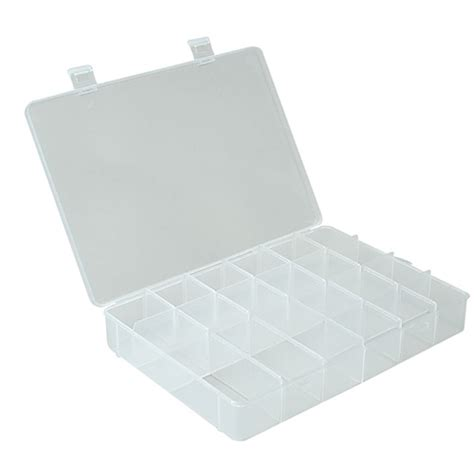 sectioned storage containers divided plastic storage case 21 compartment in divided