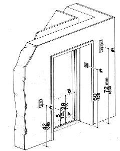 Distance From Floor To Door Knob - fig 20 hoistway and elevator entrances