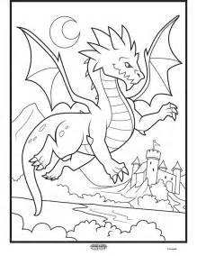 Color Alive Mythical Creatures Dragon Coloring Page Crayola Color Alive Coloring Pages