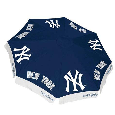 home depot yankee blue paint team sports america new york yankees 9 ft patio umbrella