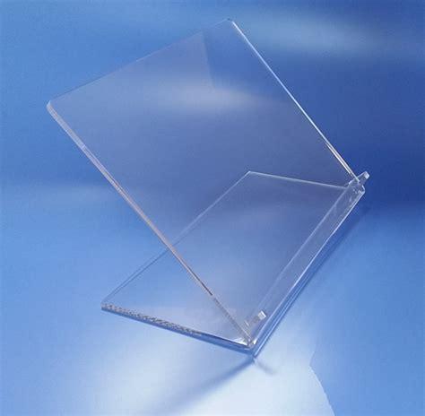 leggio da tavolo leggio in plexiglass da tavolo taglio laser
