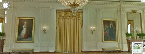 white house east room curtains maps mania tour the white house with street view