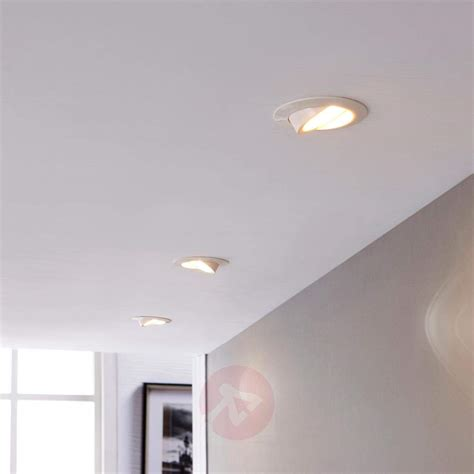led spots decke white led recessed light andrej in set of 3