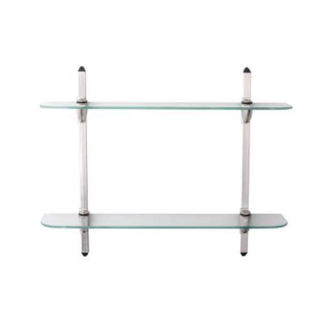 Shelf Standards And Brackets by Knape Vogt 5 In X 24 In Satin Nickel Standards And