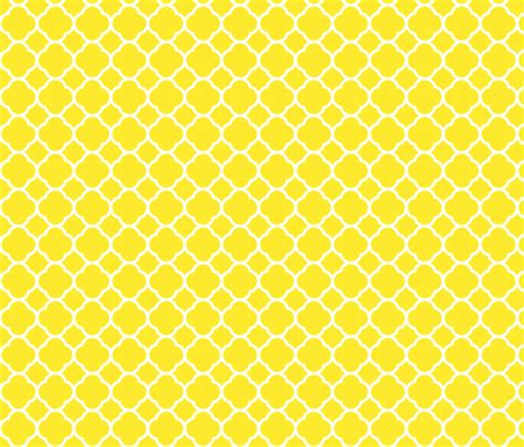 yellow quatrefoil pattern yellow quatrefoil wallpaper sweetzoeshop spoonflower