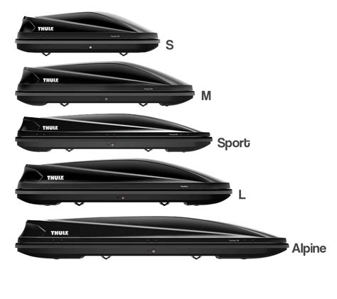 thule touring roof boxes