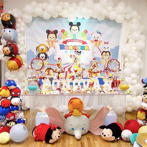 Marvel Home Decor by Tsum Tsum Carnival 1st Birthday 183 Lilixoana
