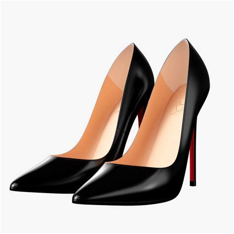 Maxx Black Heels louboutin black heels 3d max