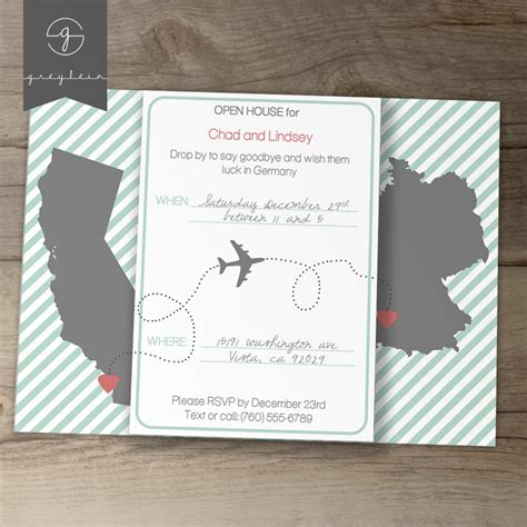 going away invitation template moving going away invitations invites