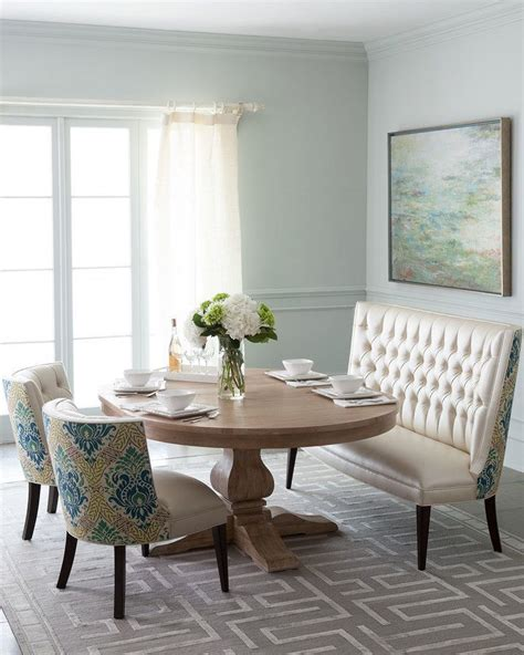loveseat for dining room table 25 best ideas about settee dining on pinterest