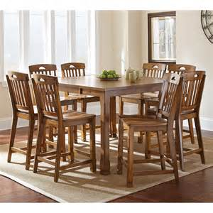 9 Piece Counter Height Dining Room Sets by Steve Silver Menton 9 Piece Counter Height Dining Table