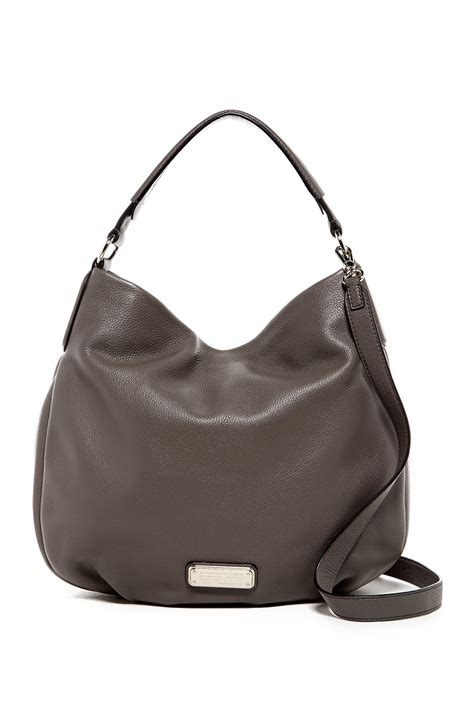 Marc Hobo by Marc By Marc Hillier Leather Hobo Nordstrom Rack
