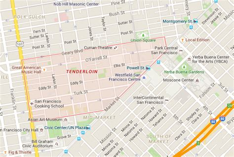san francisco map soma the tenderloin what s in a name hoodline