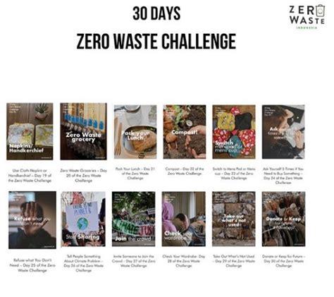 tantangan  hari  waste hidup minim sampah esqnewsid