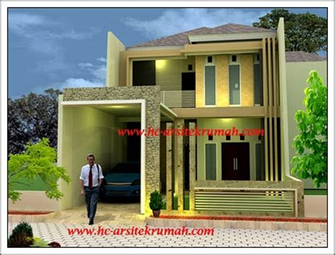 warna warna  rumah minimalis rumah carapedia