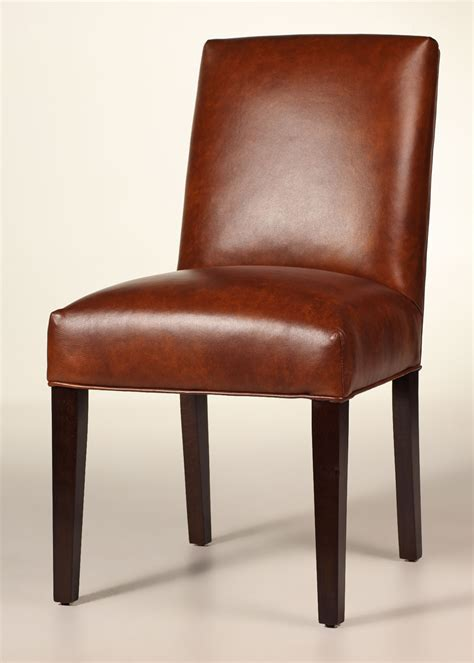 leather dining side chairs hastings leather side chair