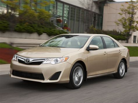 2011 Toyota Camry Le Gas Mileage Images Of Toyota Camry Le 2011 1280x960