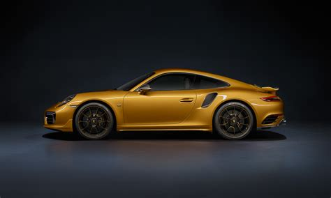 Goldener Porsche by Porsche 911 Turbo S Exclusive Series Goldener Luxus Elfer
