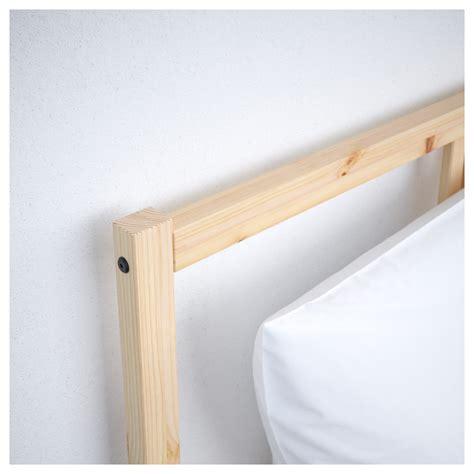 fjellse bed frame fjellse bed frame pine lur 246 y standard double ikea