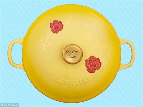 beauty and the beast soup pot le creuset s beauty and the beast soup pot daily mail online