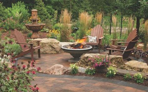 paver patios with pit 21 stunning picture collection for paving ideas