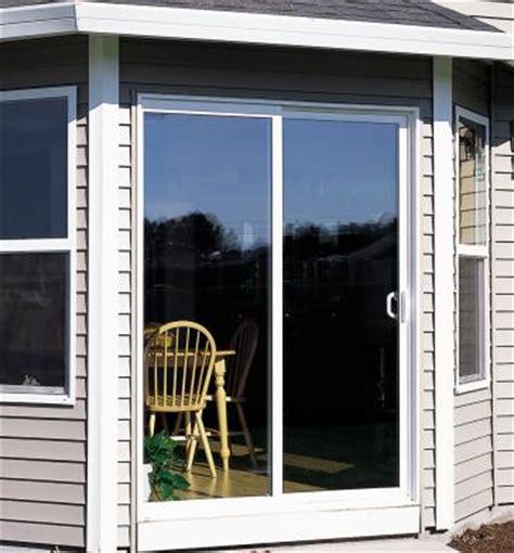 style line series vinyl patio doors milgard windows