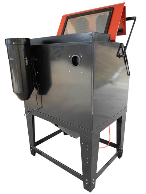 Blast Cabinet by Re70 Clamshell Abrasive Blast Cabinet Free Shipping