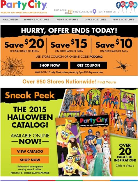 party city hurry   ends today milled