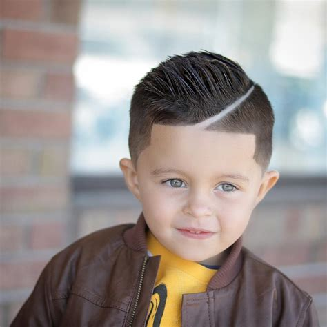 boys sporty haircuts cool hairstyle for toddler boy fade haircut