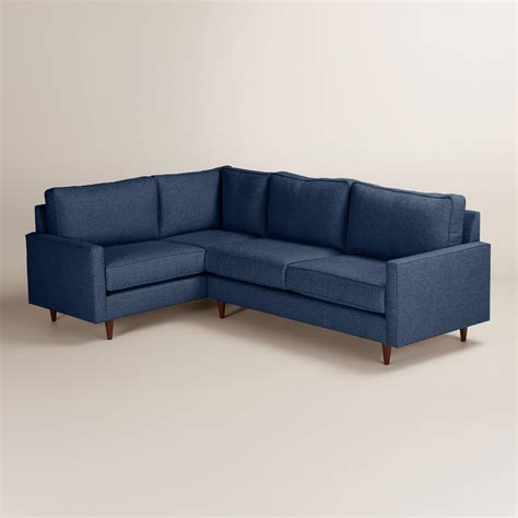 right facing sectional chunky woven nashton right facing upholstered sectional