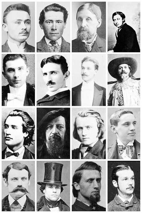 mens hairstyles in 1800 s victorian men s hairstyles facial hair 5 3x4