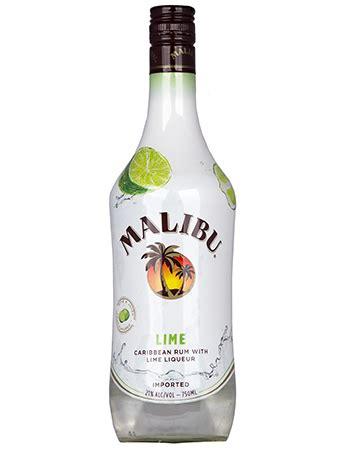 malibu rum can malibu lime