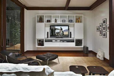 Contemporary Living Room Tv Cabinets Tv Cabinets With Doors As Family Room Decoration Furniture