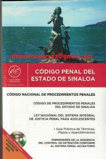 codigo penal argentino actualizado a septiembre de 2016 libros en derecho c 211 digo penal del estado de sinaloa