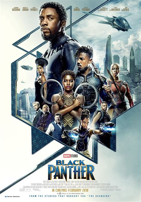marvel film wikia image black panther poster jpg marvel cinematic