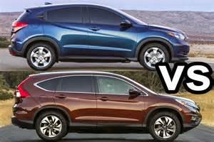 Honda Hrv Vs Crv Benim Otomobilim 2016 Honda Hr V Vs 2015 Honda Cr V