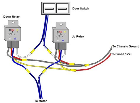 chevy power window relay wiring diagram wiring diagram