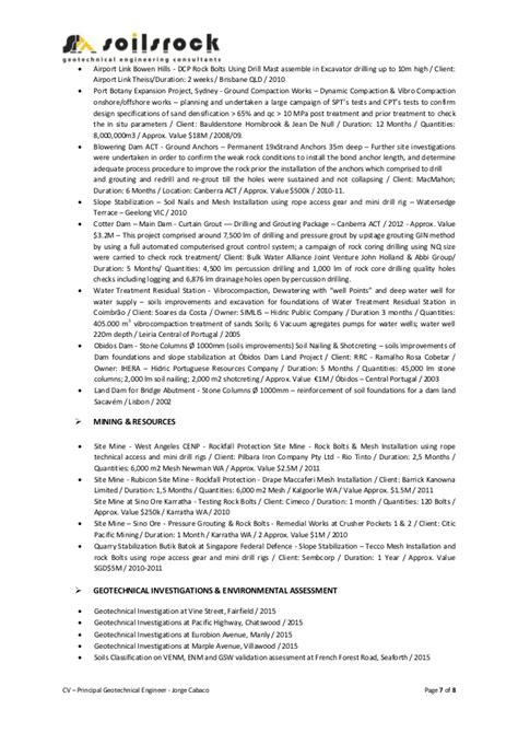 Principal Consultant Sle Resume by Resume Principal Consultant Soilsrock