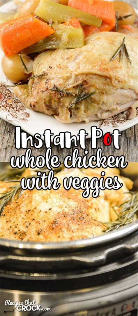 printable recipes for chicken whole chicken with vegetables electric pressure cooker