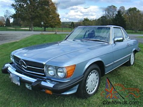 electric and cars manual 1987 mercedes benz sl class parking system 1987 mercedes benz 560sl 560 sl 49k miles all original