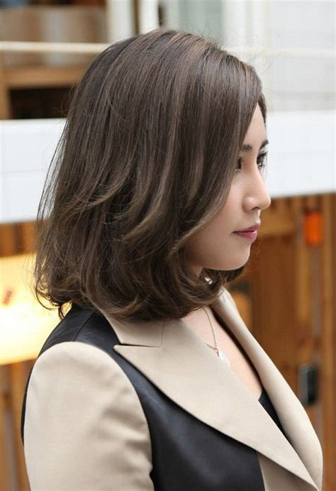 bob haircut korean style 16 fascinating asian hairstyles the natural dark brown