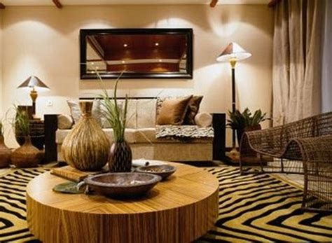 african home design decorar al estilo africano