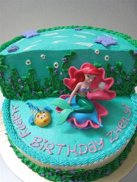 celebrate cakes   mermaid ariel