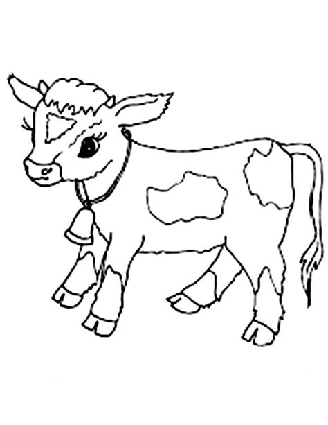 George Bush Birthday by Baby Cow Coloring Page Netart